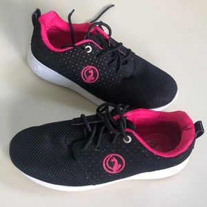 Baby Phat Black/Pink Mesh Sneakers size 8.5